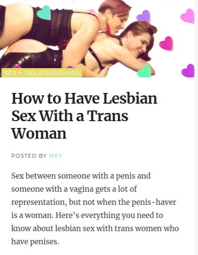 How to have good lesbian sex